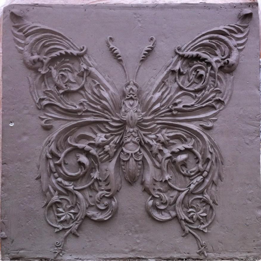 Ornamental Butterfly (based on Alex Konahin design)