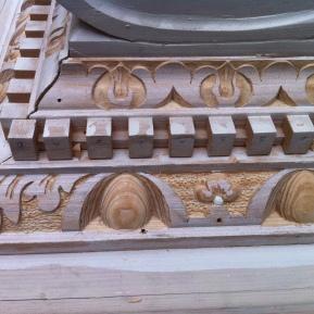Doorcase Restoration detail