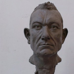 Modelling & Casting: Portrait of Alan, modelled in clay