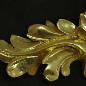 Oil Gilded Leaf